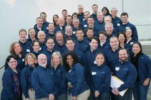 The group of trained facilitators and observers who donated their time for a great cause.